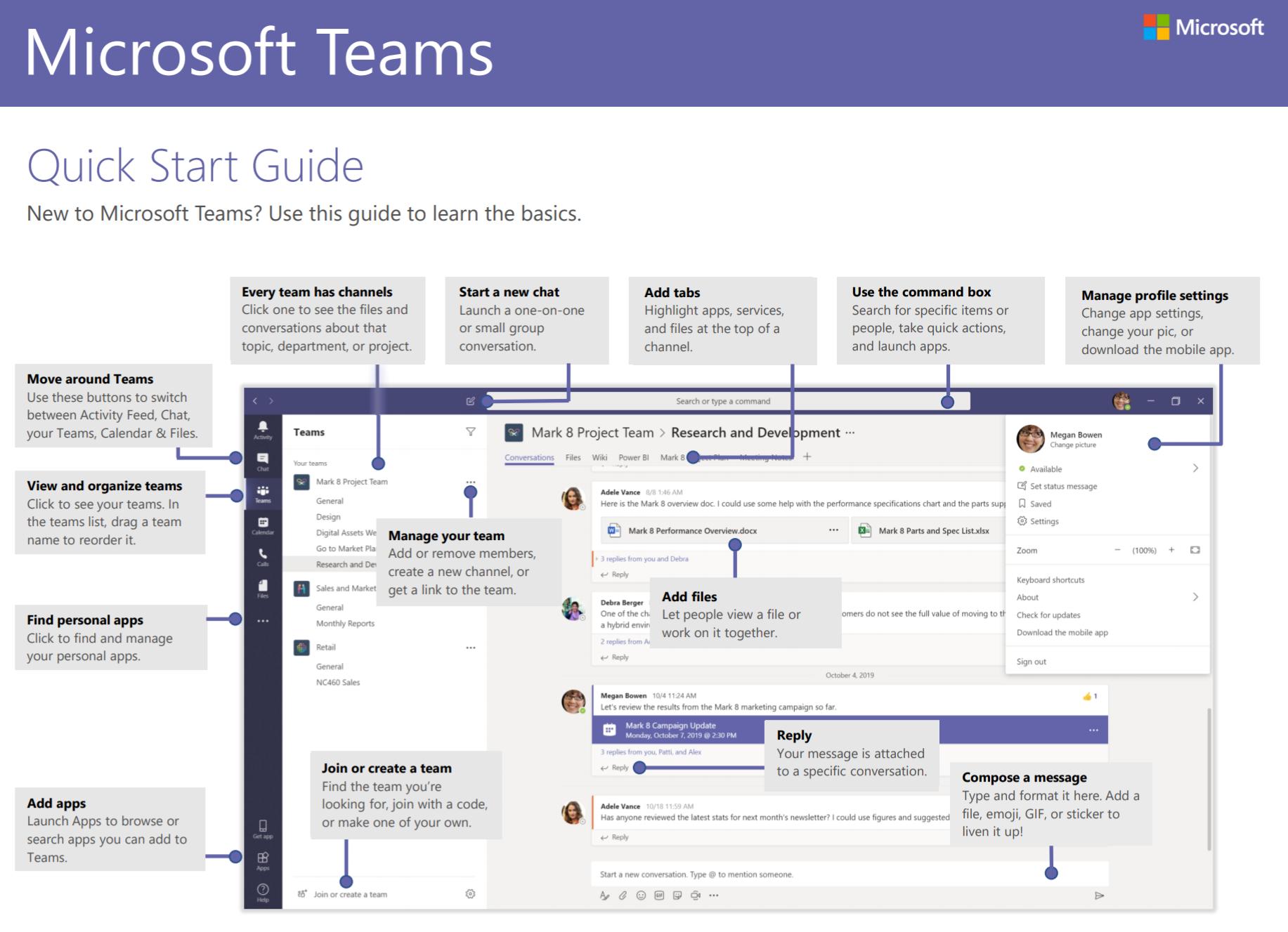 Teams guide
